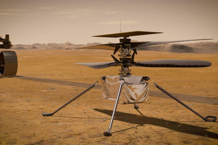 Mars helicopter's rotors fail to spin for ambitious fourth flight