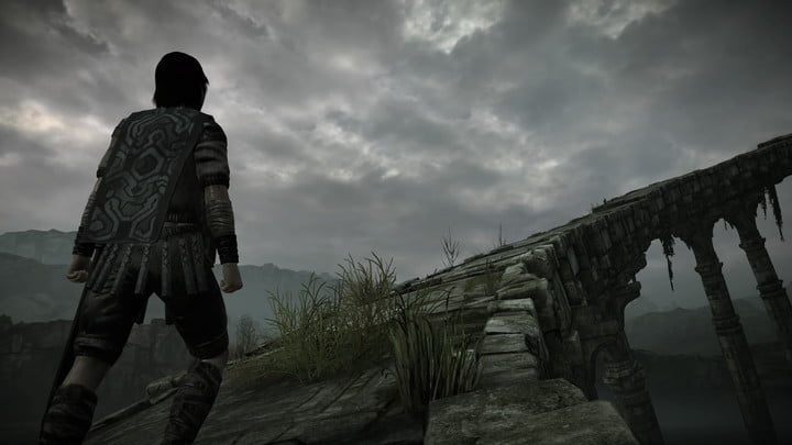 'Shadow of the Colossus' Remake review stone bridge angle
