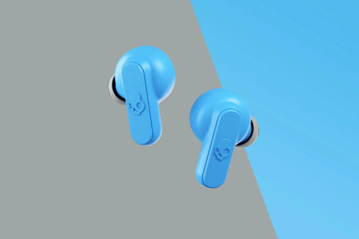 skullcandy dime wireless earbuds blue