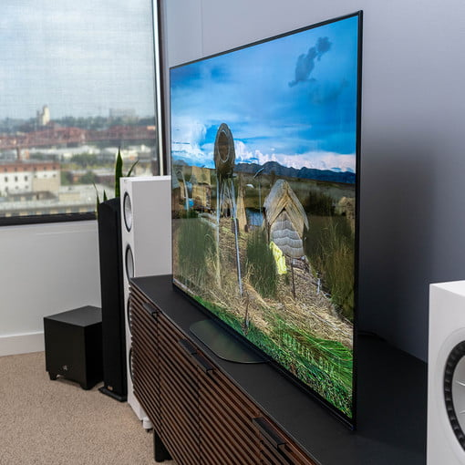 sony a9g 4k hdr oled tv review the