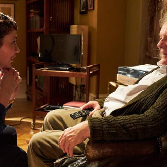 Olivia Coleman and Anthony Hopkins in The Father