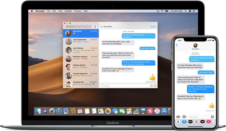 iMessages on Mac