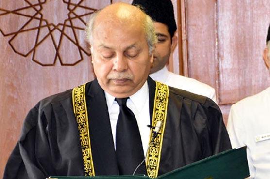 جسٹس گلزار احمد کی بطور چیف جسٹس آف پاکستان تقرری کا نوٹیفکیشن جاری