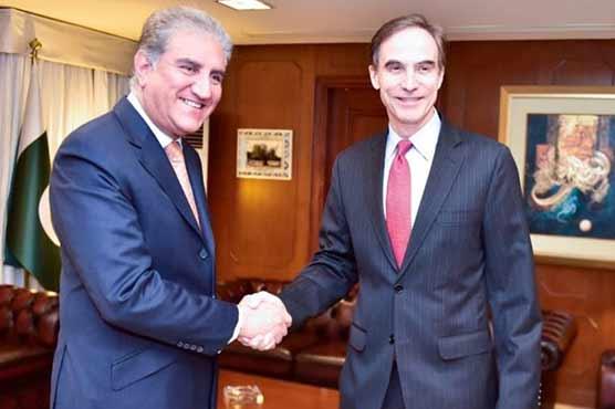 وزیر خارجہ سے امریکی سفیر پال جونز کی ملاقات، دو طرفہ تعلقات پر تبادلہ خیال