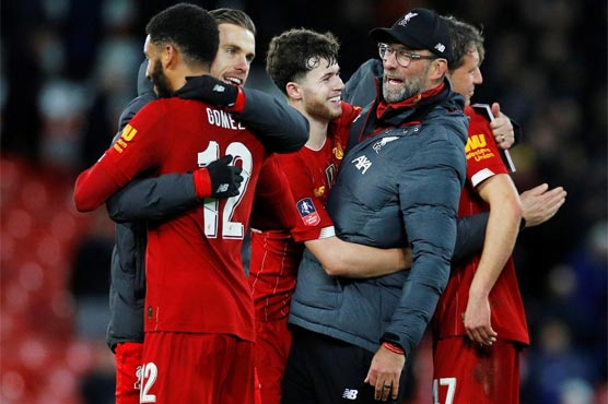 Liverpool To Visit Bristol City Or Shrewsbury In Fa Cup Fourth Round