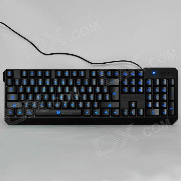 2d10920e5c8 Motospeed K70 USB 2.0 Wired 104-Key Gaming Keyboard w/ Backlight - Black (