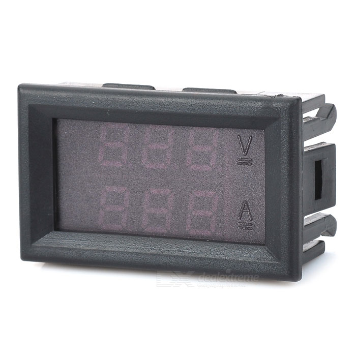 121502 3-Digit DC LED Double-Display Voltage Current Meter - Black Multiple power supply connect adapter Additional linker for Dual, Triple and more Power supply connector Multiple power supply connect adapter Additional linker for Dual, Triple and more Power supply connector sku 291262 1