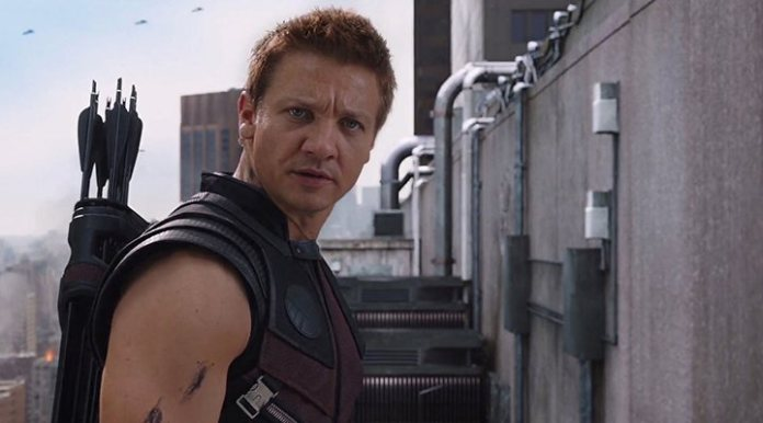 Jeremy Renner Clint Barton hawkeye 'The Avengers'