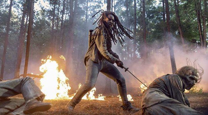 Danai Gurira in the tenth season of 'The Walking Dead'