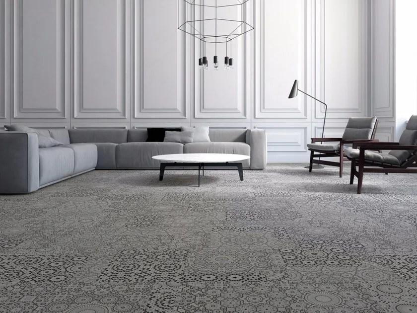 patterned carpet tiles aarhus by object