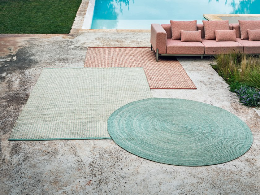 round outdoor rugs archiproducts