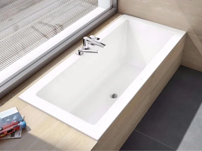 baignoire encastrable en acrylique legato baignoire encastrable by villeroy boch