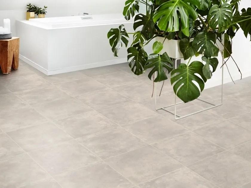 vinyl flooring with concrete effect