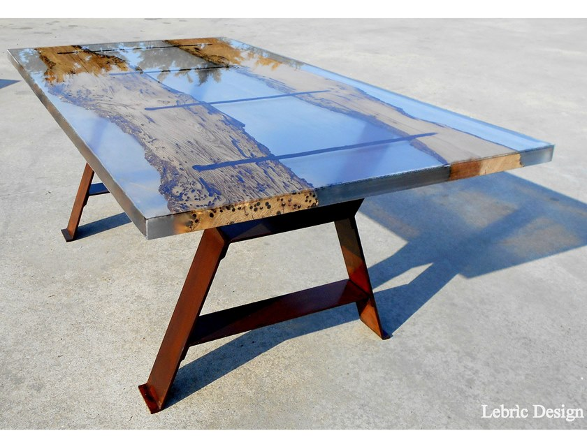 san marco resin coffee table by
