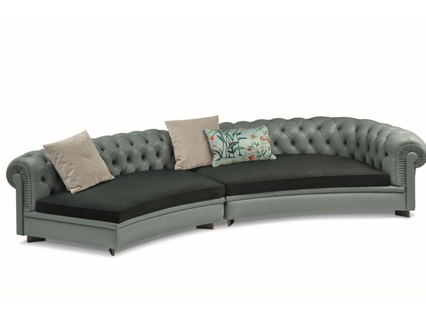 chester line curved sofa the