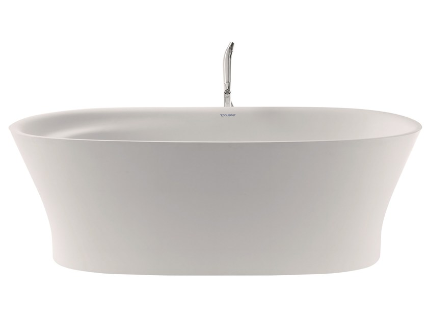 baignoire ilot ovale en durasolid cape cod baignoire ilot by duravit