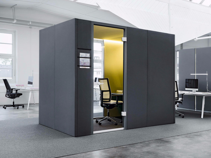 Acoustic Office Booth CAS ROOMS CAS Collection By Carpet