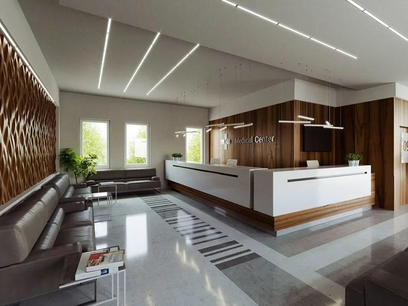 linear lighting profile for led modules