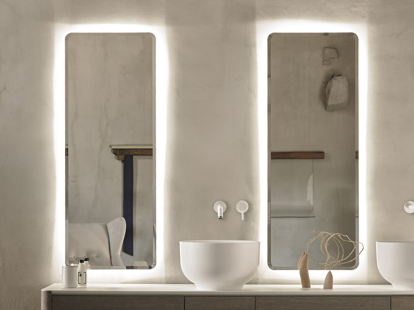 Origin Miroir Avec Eclairage Integre Collection Origin By Inbani Design Seung Yong Song