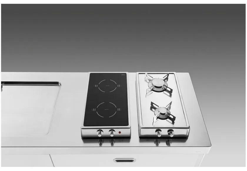 Piano Cottura Ribaltabile Gasinduzione By Alpes Inox