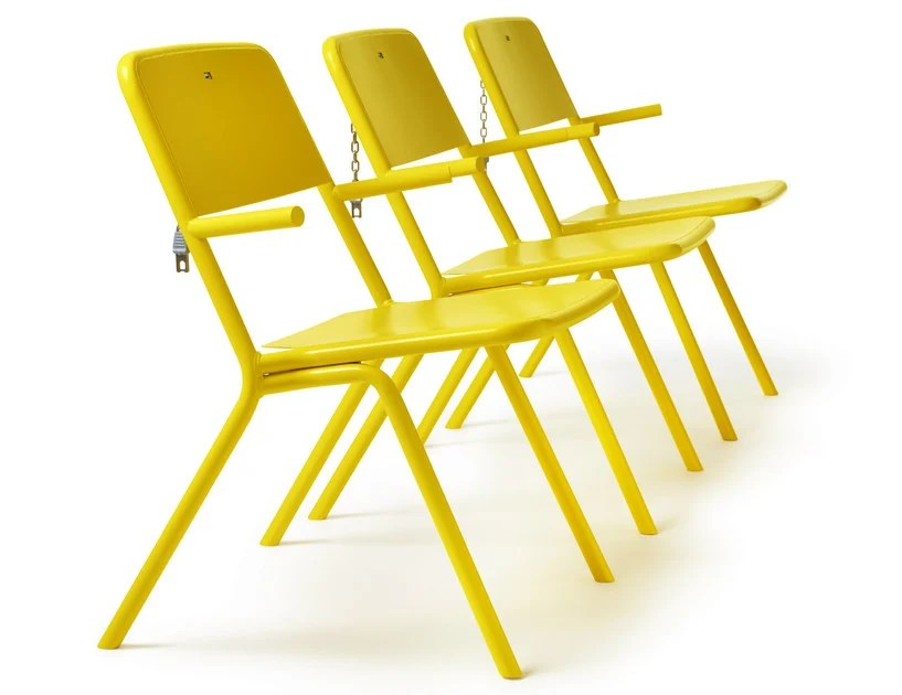 powder coated steel outdoor chair share