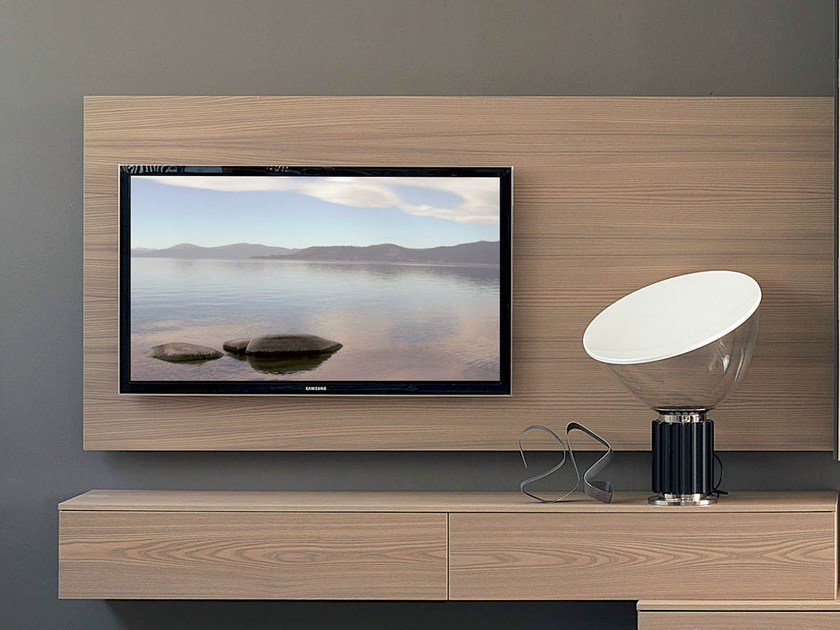 wall mounted tv cabinet rack wide by fimar