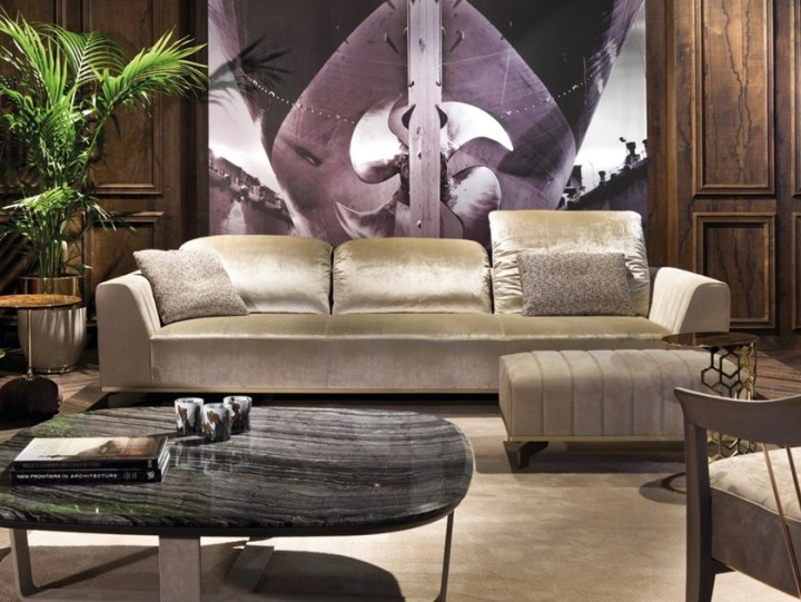 3 Seater Leather Sofa Sheffield By Longhi