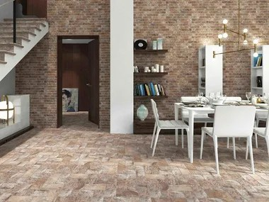 ceramic materials wall tiles with brick