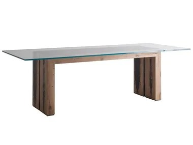 wood and glass tables archiproducts