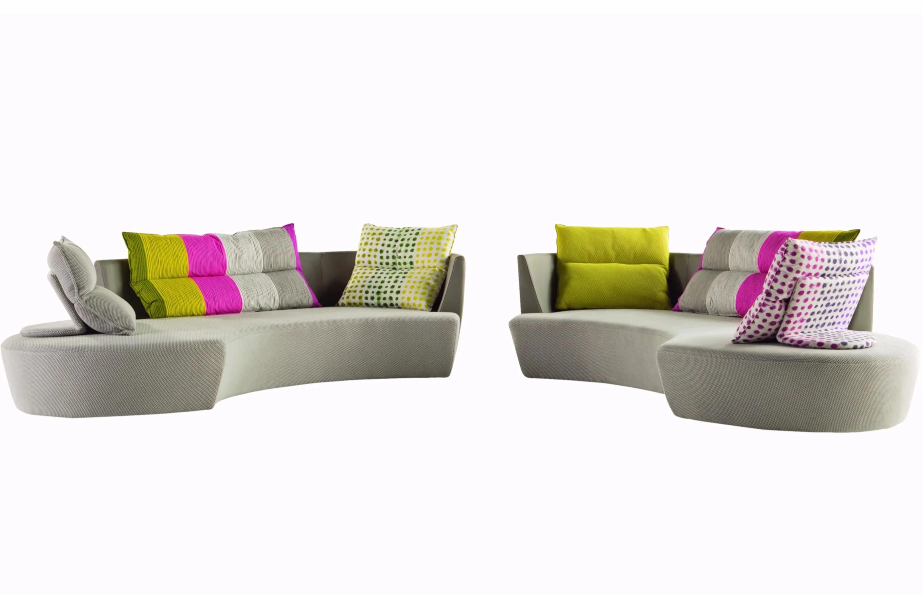 Fabric Sofa REPORTAGE By ROCHE BOBOIS Design Philippe Bouix