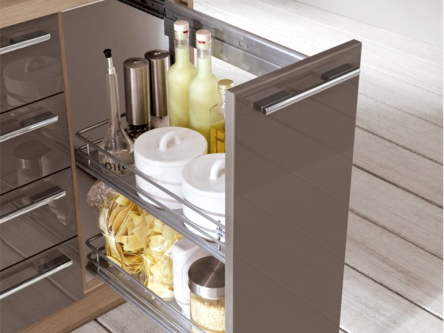 LACQUERED KITCHEN LUX 828 BY NOBILIA-WERKE
