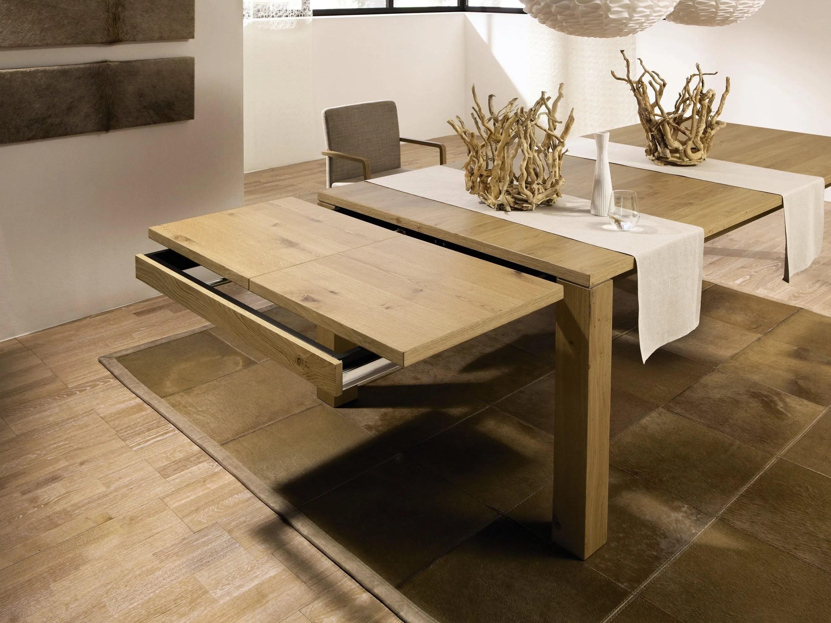 Table A Manger Extensible Bois