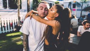 Mac Miller y Ariana Grande. (Foto: Instagram)