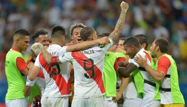 Perú vs. Uruguay. (Foto: AFP)
