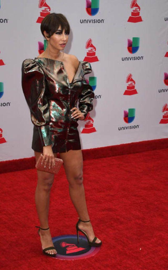 Jackie Cruz en los Grammy Latino 2017