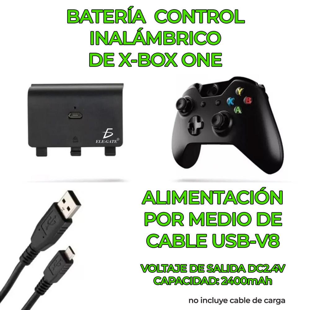 Carga Y Juega Para Control Xbox One Bateria