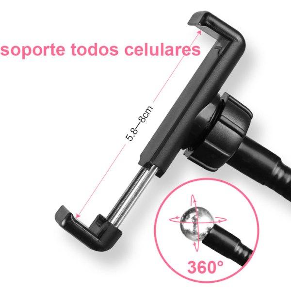 Aro Anillo De Luz Led Para Selfie Celular Telefono Iphone