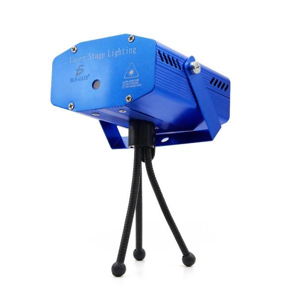 Mini Proyector Lampara Laser Disco DJ Movimiento Automatico