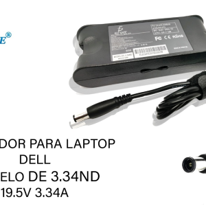 Cargador Laptop Dell 19v 3.34a 7.4*5.0 65W Pin Central