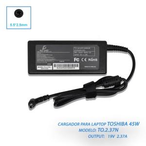 Cargador Laptop Compatible Toshiba Mini 19v 2.37a 5.5*2.5mm