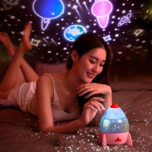 Lámpara Proyector De Estrellas Para Niños Luces Led