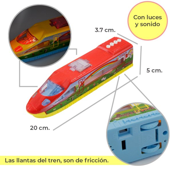 Tren eléctrico de juguete