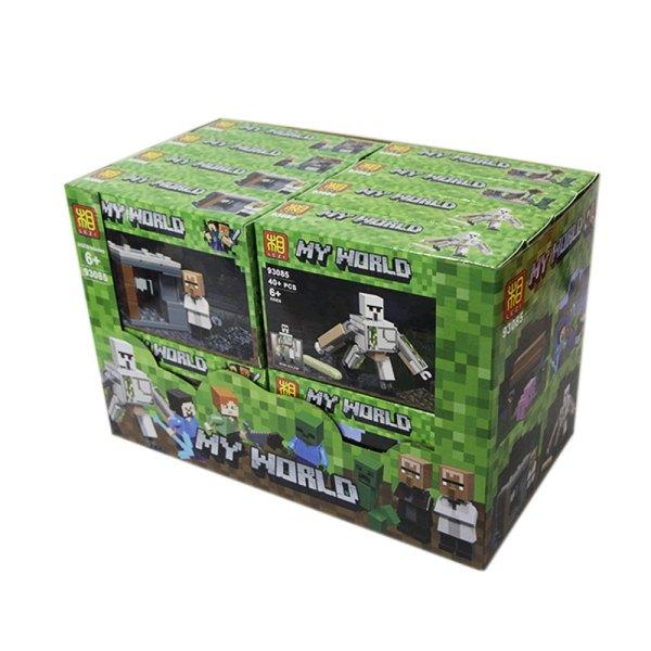 Bloques de Juguete Edición Zombis para niños