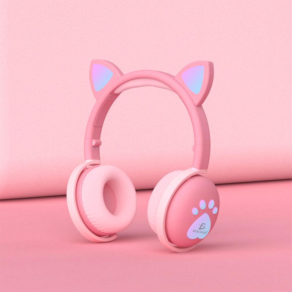 audifonos rosas