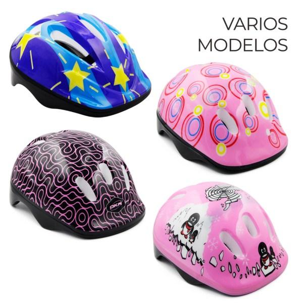 Casco Niños Y Niñas Bicicleta Scooter Patines Patineta