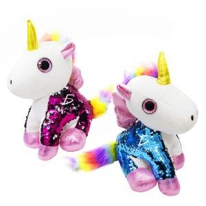 Unicornio Pony De Peluche Arcoiris Juguete Suave de 25cm