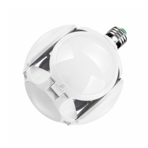 Lampara Led Football Plegable Alta Potencia Luz Blanca