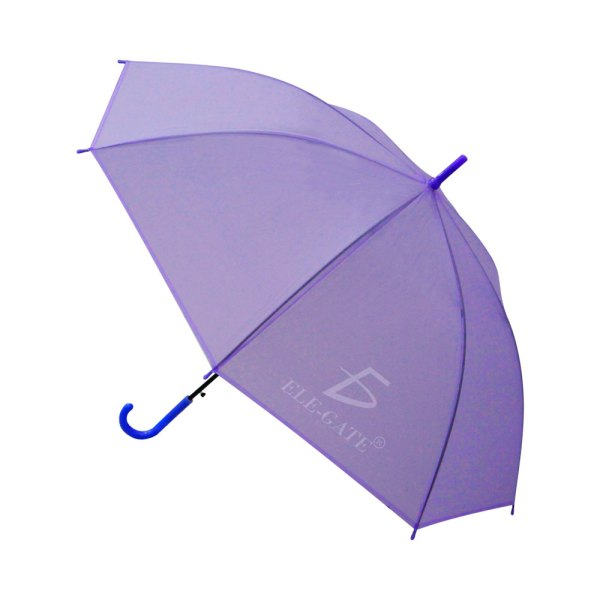 Paraguas Transparente De Colores Fashion Sombrilla