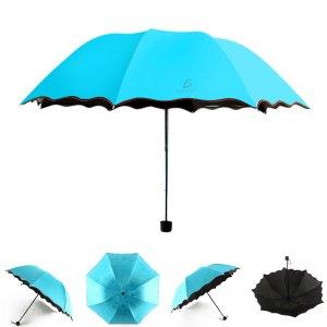 Paraguas Plegable Y Portátil Para Sol lluvia 4 Colores