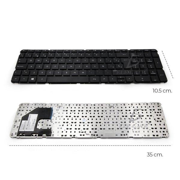 Teclado Laptop Compatible 15-b 250 G2 15z-b Sleekbook Negro En Español